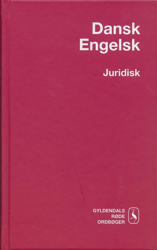Dansk-Engelsk Juridisk Ordbog