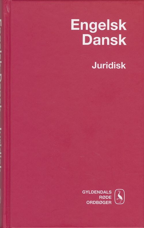 Engelsk-Dansk Juridisk Ordbog