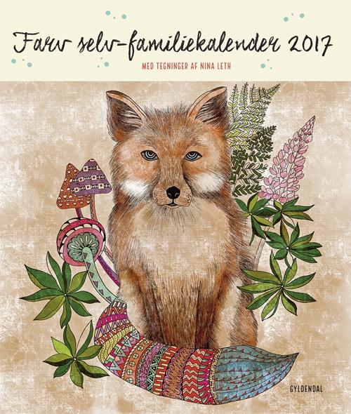 Farv selv-familiekalender 2017