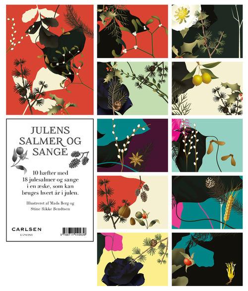 Mads Berg Julens salmer og sange: 10 hæfter i en æske