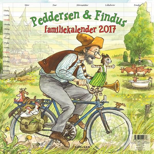 Peddersen familiekalender 2017