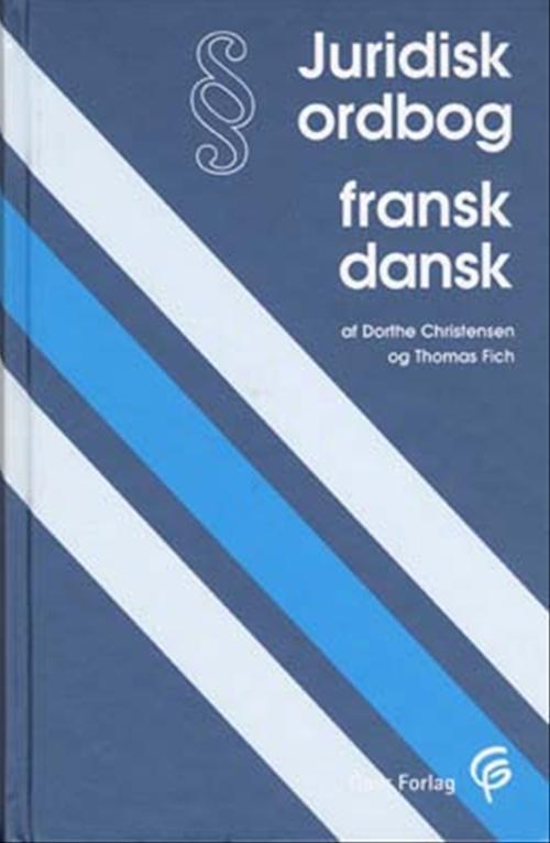 Juridisk ordbog fransk-dansk