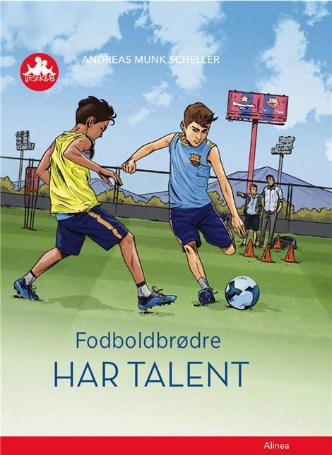 Fodboldbrødre - Har talent, Rød Læseklub