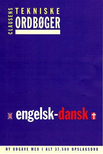 Clausens tekniske ordbøger, Engelsk-dansk