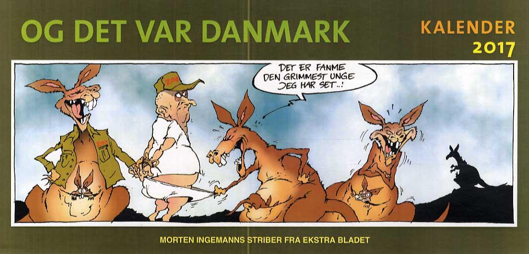 Og det var Danmark - kalender 2017