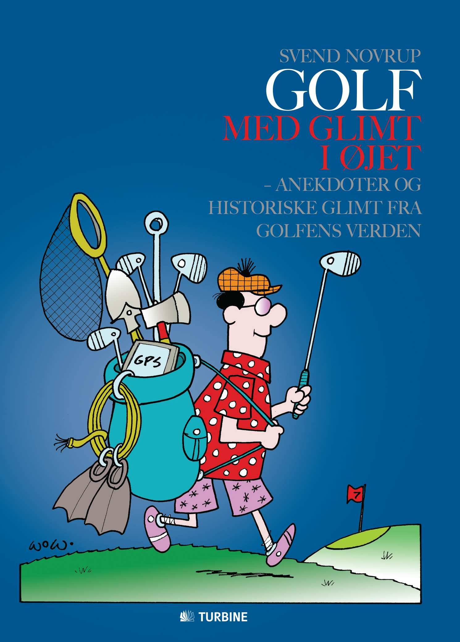 Golf med glimt i øjet