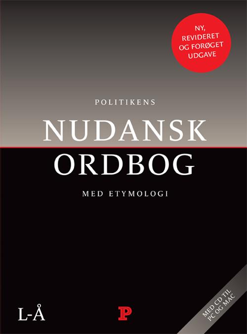 Nudansk ordbog m/etymologi inkl. cd