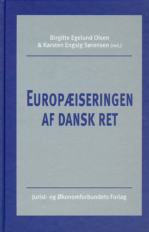Europæiseringen af dansk ret