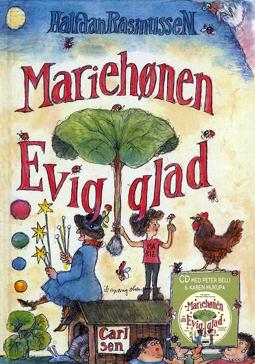 Mariehønen Evigglad - med CD