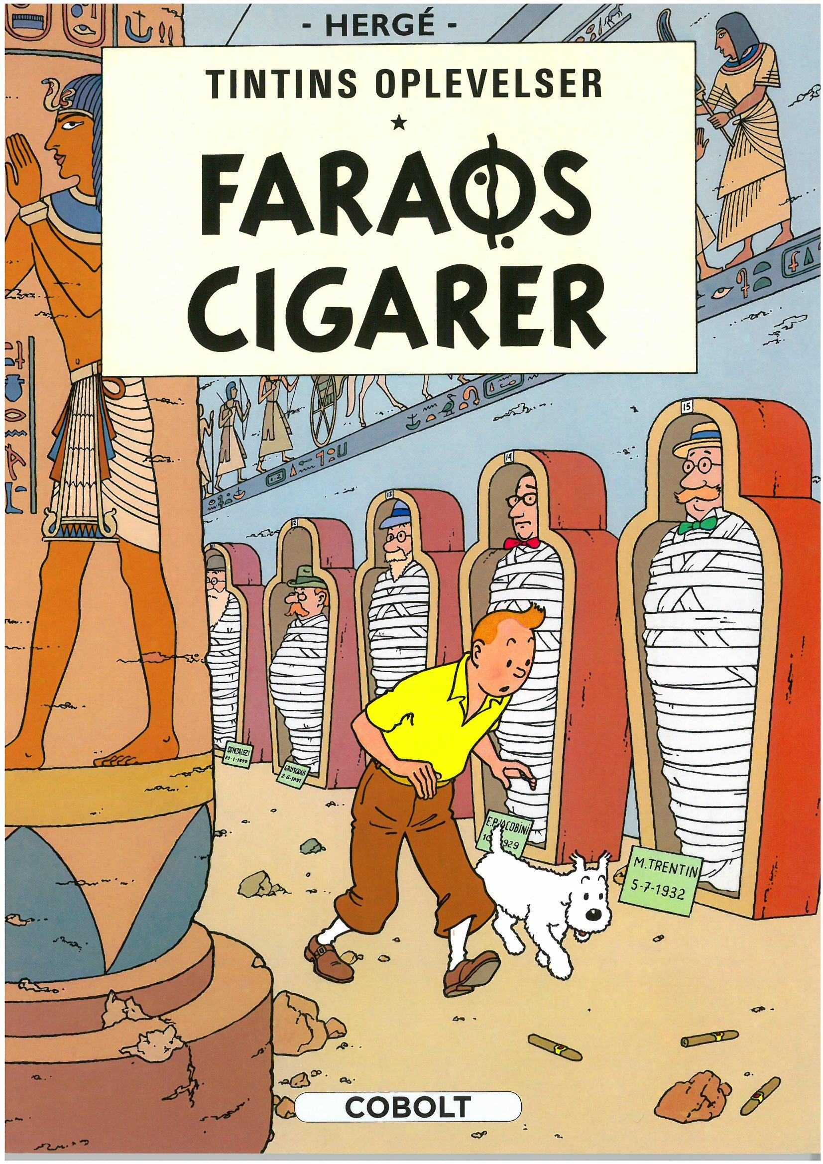 Tintins Oplevelser Standardudgave: Faraos cigarer - Hæftet, ny oversættelse