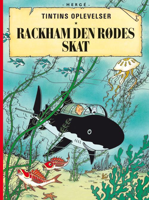 Tintins Oplevelser Standardudgave: Rackham den Rødes skat - Hæftet, ny oversættelse