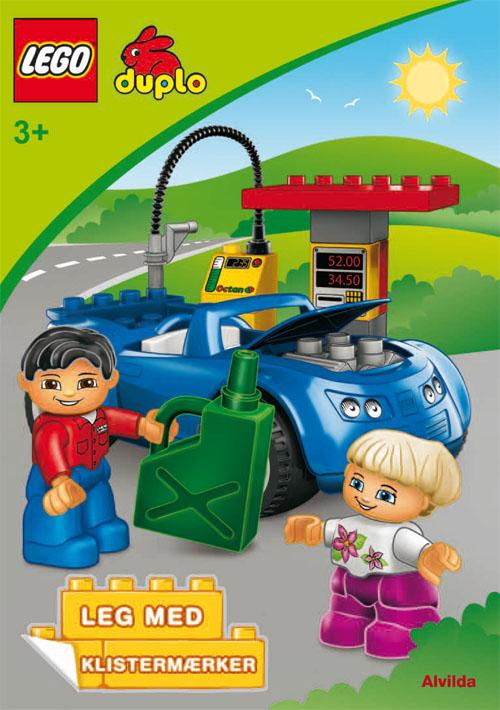 LEGO DUPLO - Bilen - Sjov med klistermærker (sæt a 3 stk. Pris pr. stk. 39,95)