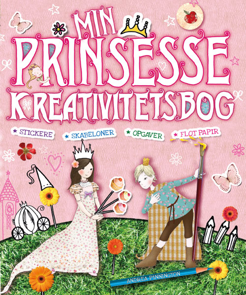 Min prinsesse-kreativitetsbog