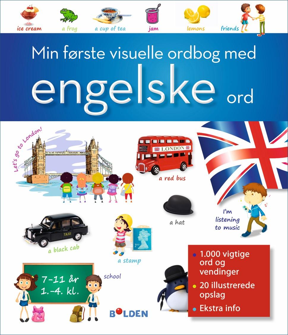 Min første visuelle ordbog med engelske ord