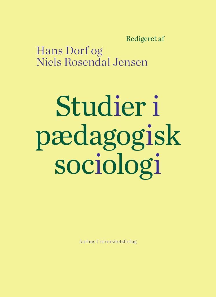 Studier i pædagogisk sociologi
