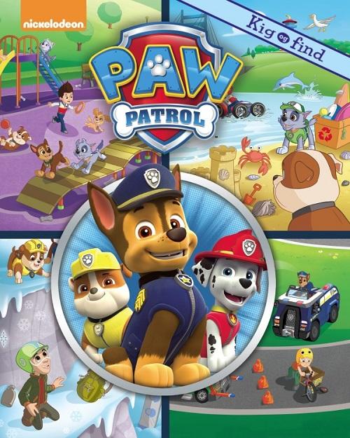 Nickelodeon Kig & Find  Paw Patrol