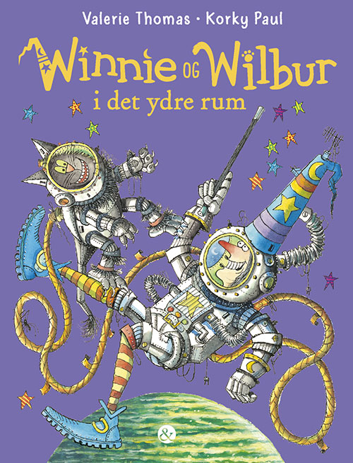 Winnie og Wilbur i det ydre rum