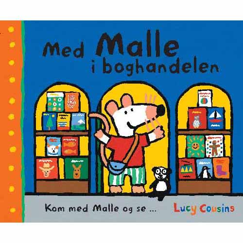 Med Malle i boghandelen