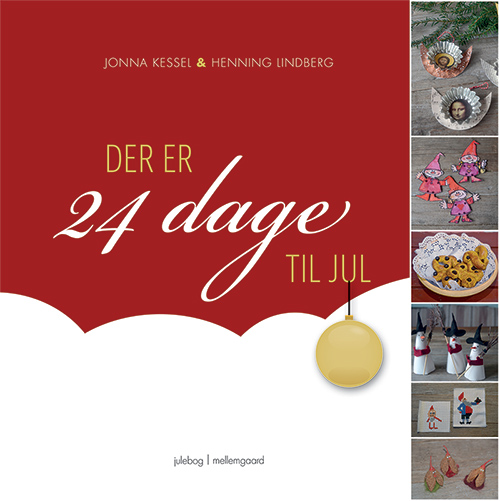 Jonna Kessel og Henning Lindberg. Der er 24 dage til Jul.