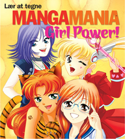 Lær at tegne Manga Mania Girl Power