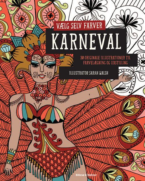 Vælg selv farver - Karneval
