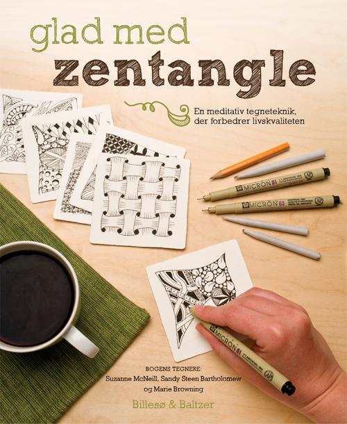 Glad med Zentangle