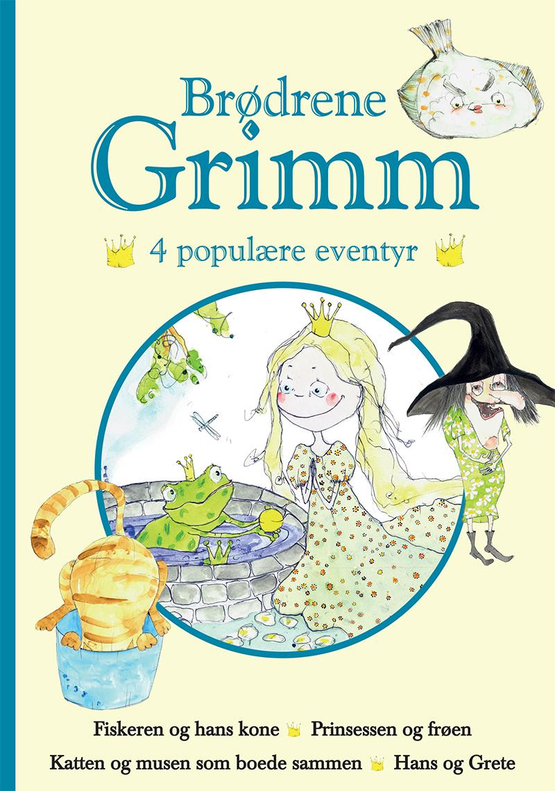 Brødrene Grimm - 4 populære eventyr II