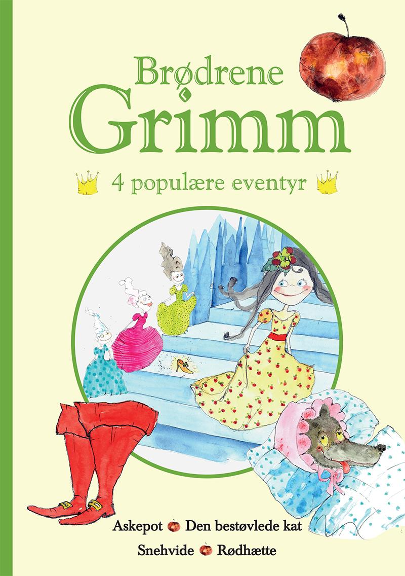Brødrene Grimm - 4 populære eventyr I