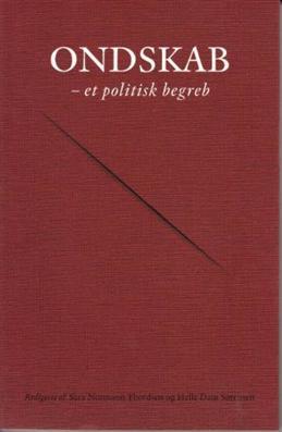 Ondskab - et politisk begreb