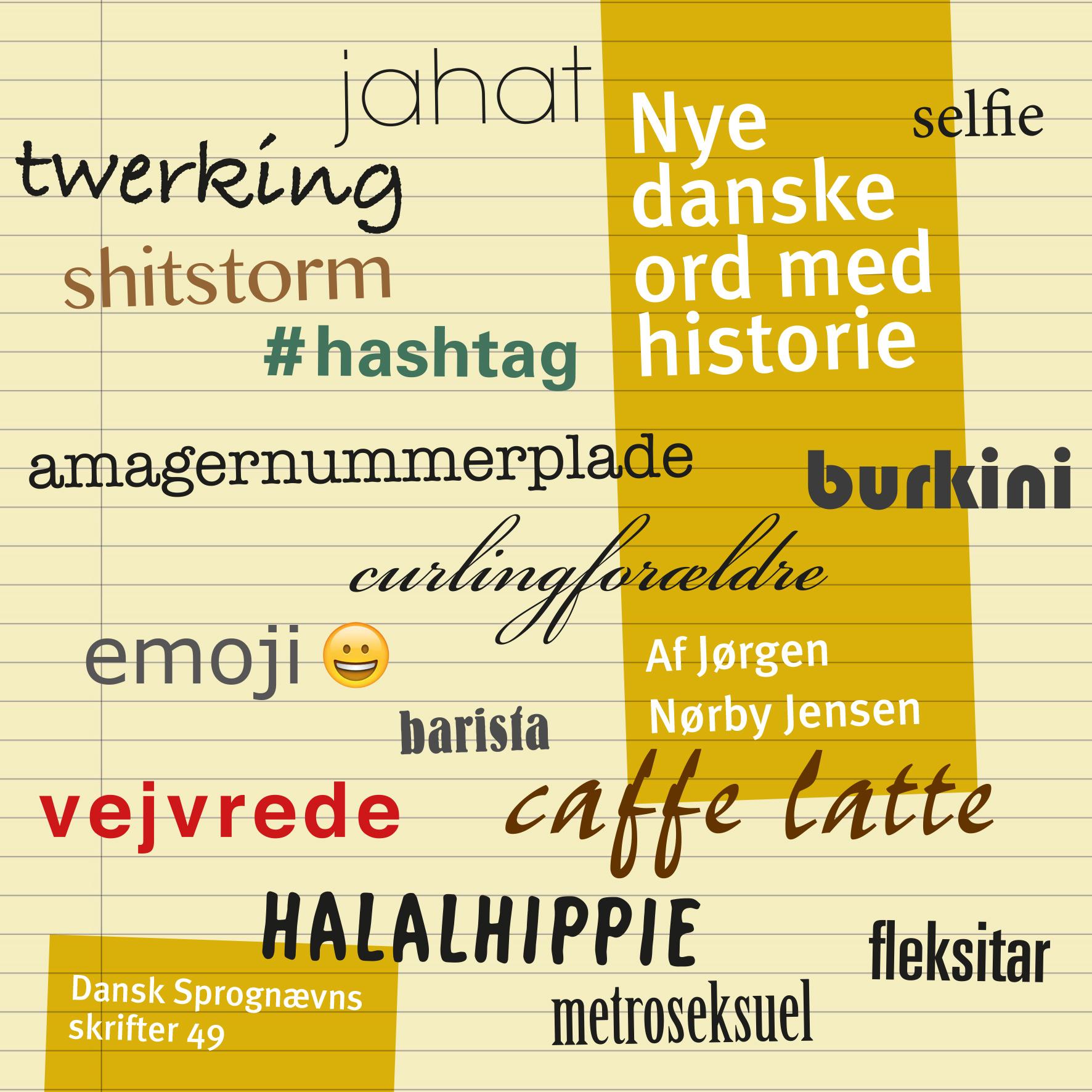 Nye danske ord med historie