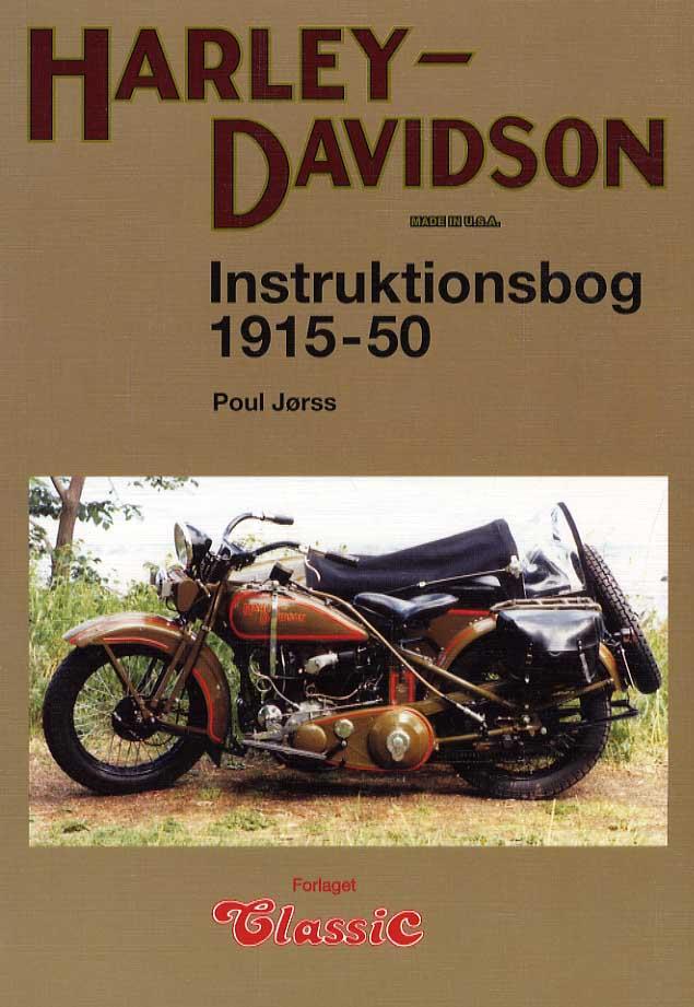 Harley-Davidson Instruktionsbog 1915-1950x