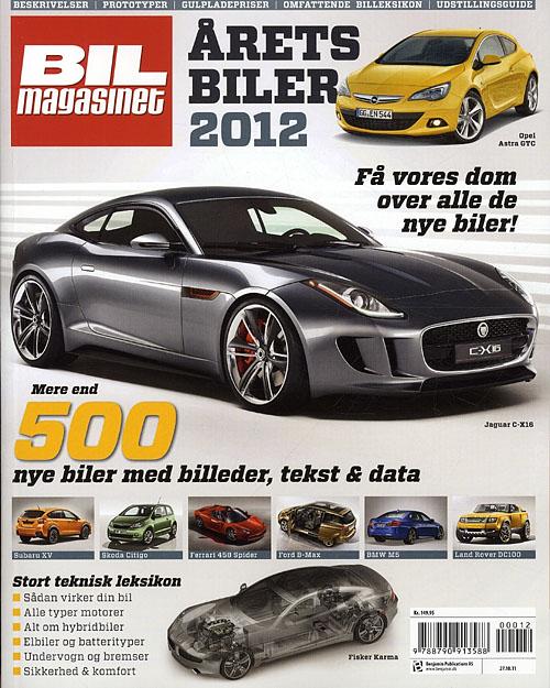 Årets Biler 2012