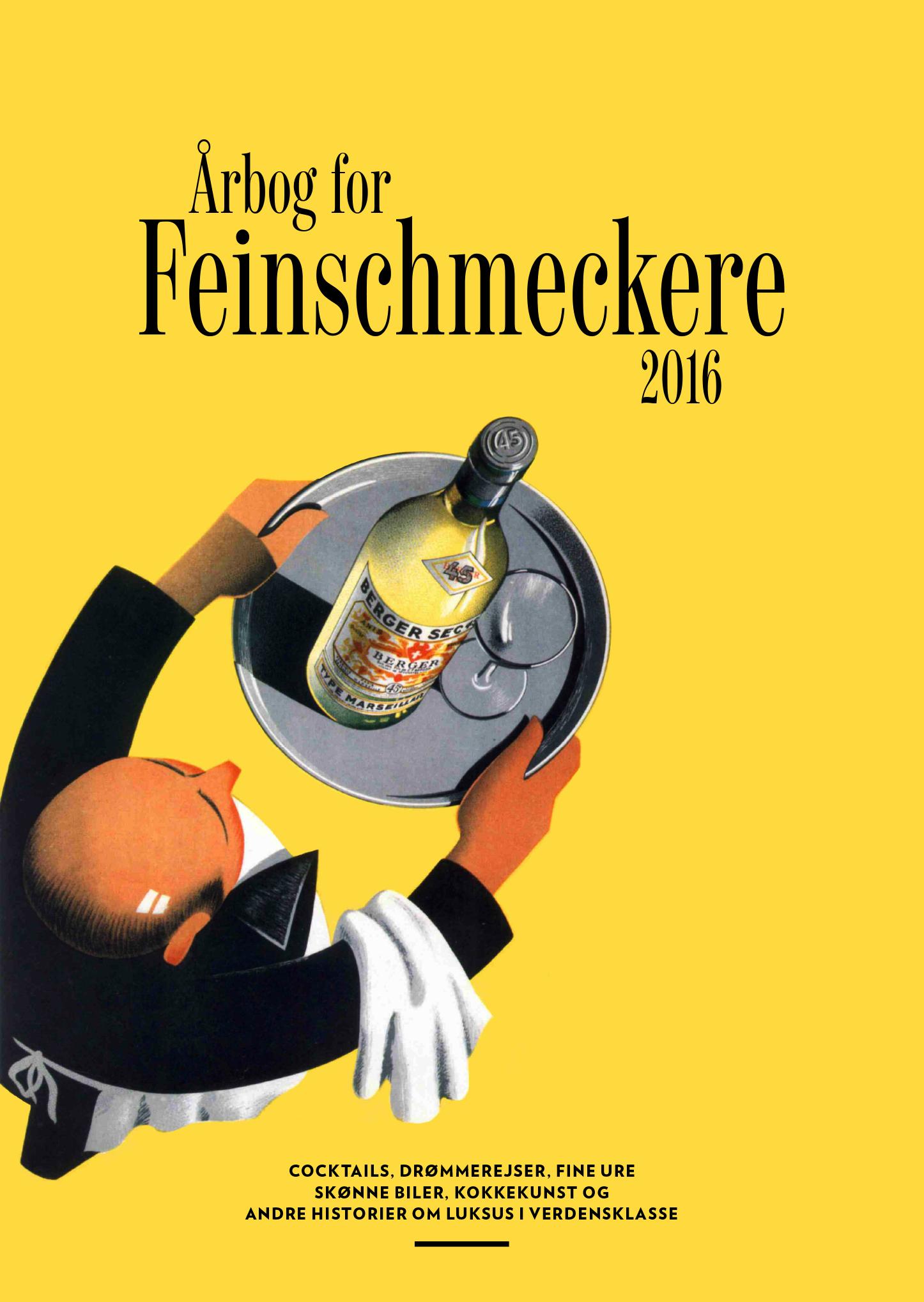 Årbog for Feinschmeckere 2016