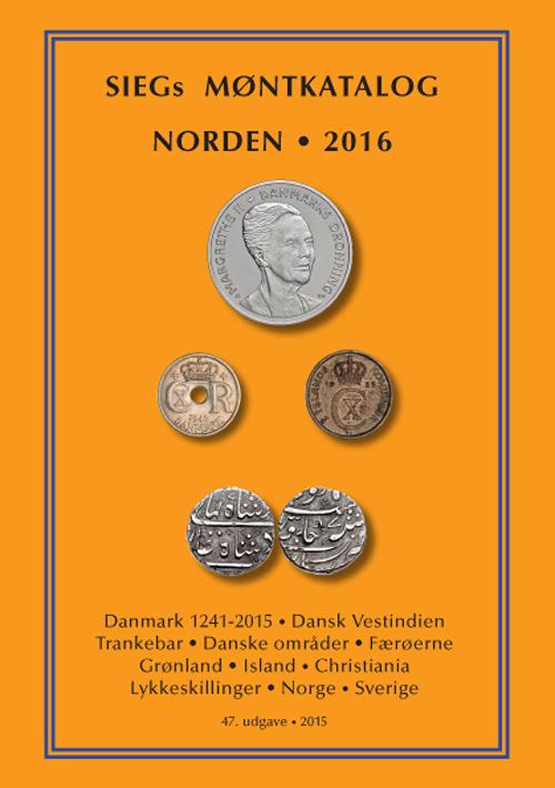 SIEGs Møntkatalog Norden. 2016