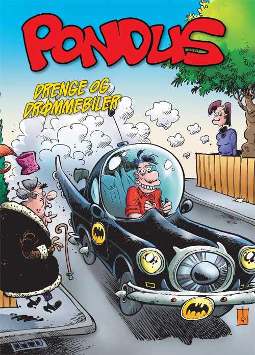 Pondus: Drenge og drømmebiler