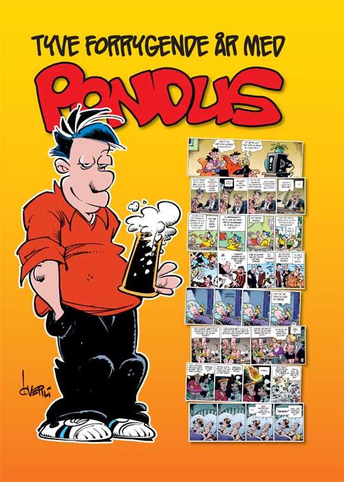 Tyve forrygende år med Pondus