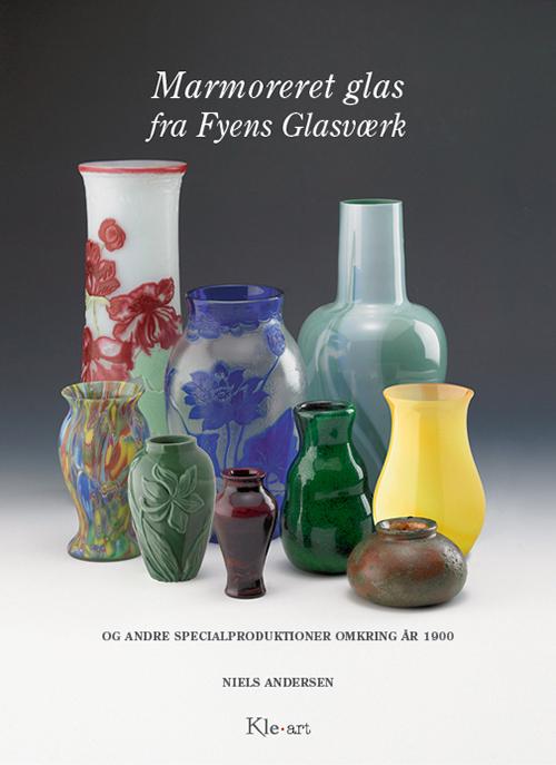 Marmoreret glas fra Fyens Glasværk