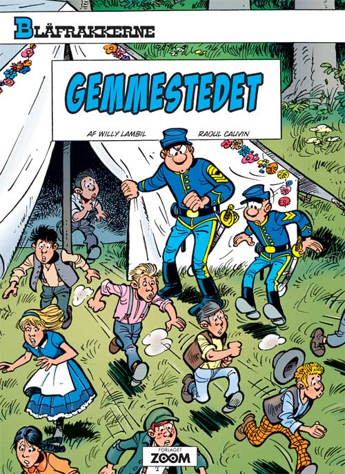 Blåfrakkerne: Gemmestedet
