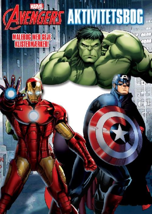 Marvel Avengers Aktivitets bog