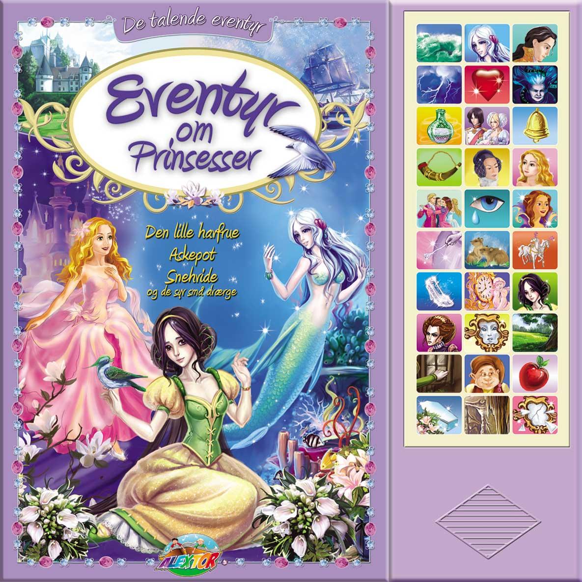 Eventyr om Prinsesser (Med 30 lyde)