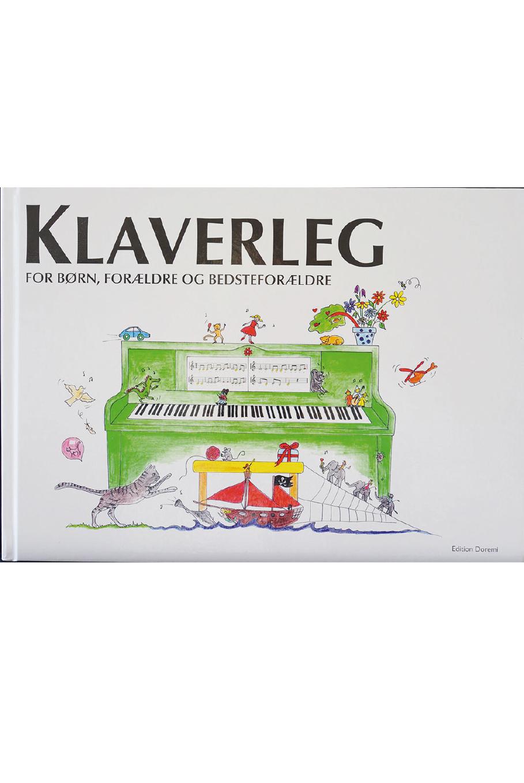 Klaverleg for børn, forældre og bedsteforældre (grøn)