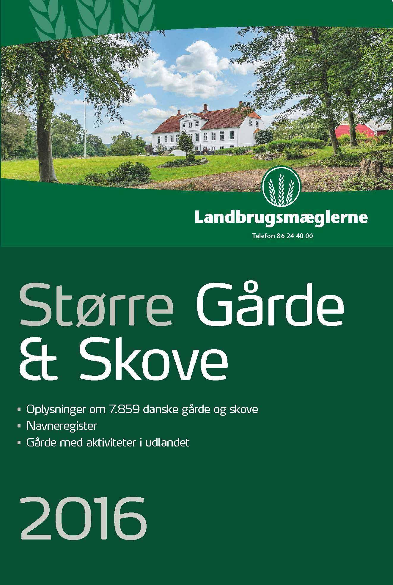 Større Gårde & Skove 2016